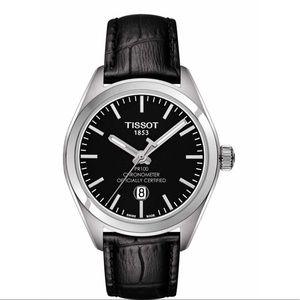 Women's Tissot PR 100 Lady COSC Leather Watch